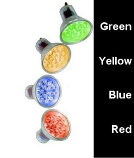 GU10 1w LED Colour Lamp