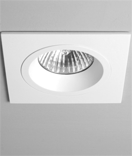 Fixed Square Recessed Mains Downlight