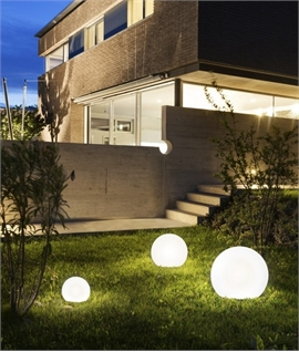 Outdoor IP65 Light Up Glow Ball - 4 Sizes