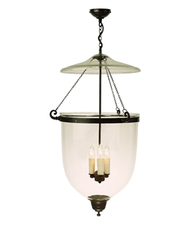 Large 3 Light Georgian Hanging Lantern