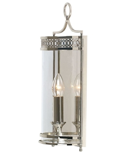 Georgian Design 3 Lamp Lantern Ideal For Period Hallways Or Any Living Space