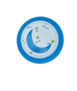 Fun And Stylish Kids Light - Moon Design
