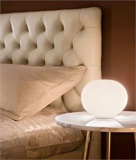 Mini Glo-Ball Table Lamp by Flos