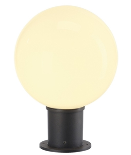 Round Globe Energy Saving Mini Bollard