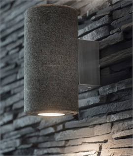 Solid Granite Up & Down Wall Light for LED Lamps