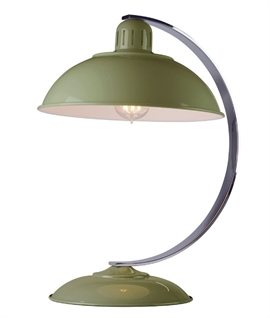 Retro Post War Desk Lamp Offered in Four Colours