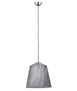 Grey Concrete Suspension Pendant