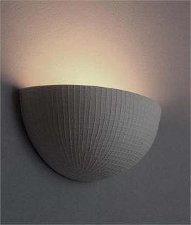 Ceramic wall lights lighting styles grid effect ceramic wall uplighter aloadofball Choice Image