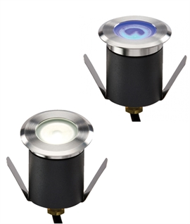 High Output LED Mini Ground Light - White LEDs