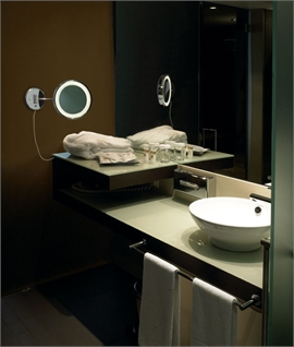 Bathroom Vanity Lights Hotel : Bathroom Lights & Fixtures Lighting Styles