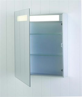 Astro 0349 Modena - IP44 Bathroom Mirror Cabinet with Light
