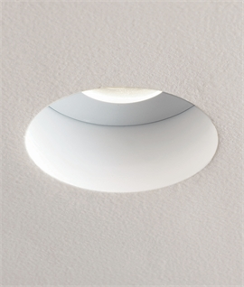Fire-Rated Hidden Recessed Downlight For GU10 mains Lamps