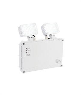 IP65 Twin Emergency Light 3w LEDS