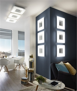 Square Infinity Wall Light - 470mm