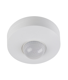Surface Mounted 360° PIR Movement Detector - loads up to 1.2kw