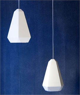 Portland Plaster Pendant by Innermost