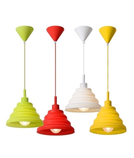 Jelly Mould Coloured Pendants Dia 220mm