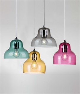 Colourful Glass Jelly Pendant by Innermost