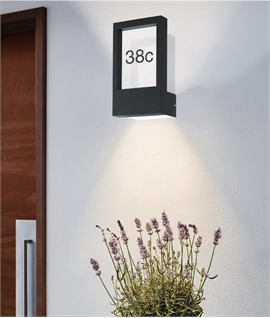 Up-Standing House Number Plaque