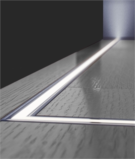 Recessed LED Wall and Ceiling Profile - 2 Metre Lengths