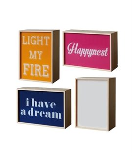 Lighthink Box - 3 Phrases & Blank for Own Message