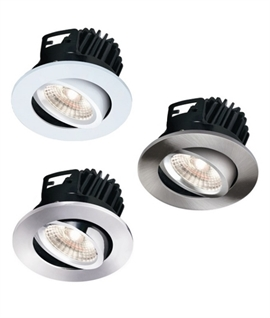 Elite HD 7w COB LED Fire Rated Tilt Downlight