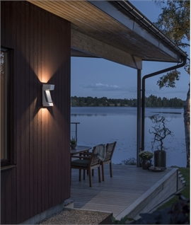 LED Dimmable Exterior Wall Light IP54 Rated