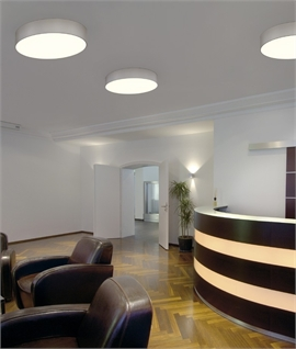 LED Flush Drum with Acrylic Diffuser - 4 Colour Options