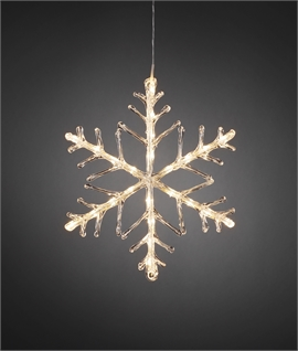 LED Light Up Christmas Hanging Snowflake
