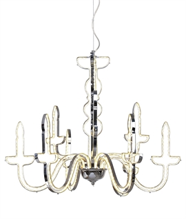 Modern LED Ghost Candelabra Chandelier