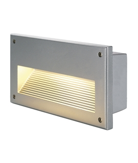 Glare Free Louvred Design Brick Light E14 or LED