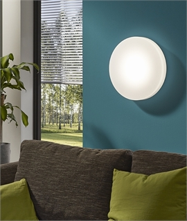 LED Round Flush Fitting Wall or Ceiling Light