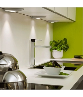 Triangular LED Undercabinet Lights - Low-Profile Design