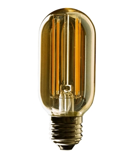 E27 4w Dimmable LED Tubular Tinted Lamp