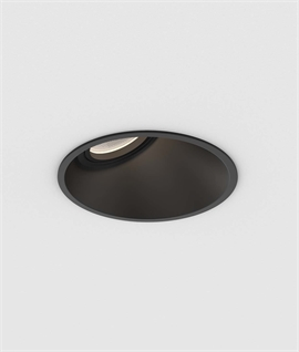 Angled Low Glare Downlight for LED Lamps