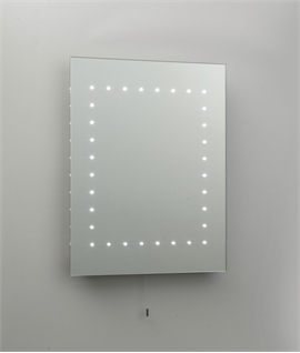 LED Bathroom Mirror with Pull Cord