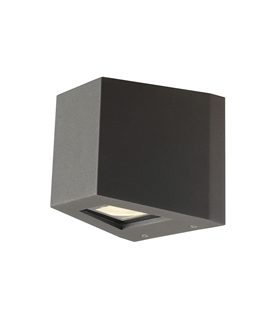 Dual LED Beam Cube Light - Exterior Use