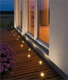 Mini LED Recessed Ground Spot - 6 Pack