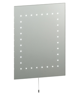 LED Bathroom Mirror 500mm x 390mm