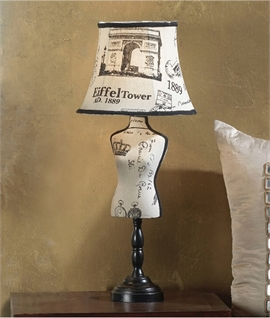Mannequin Table Lamp - Two Designs