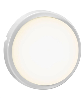 Budget Exterior Round LED Wall or Ceiling Light