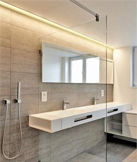 Led Bathroom Lighting Strips Bathroom Mood Lighting | Lighting Styles