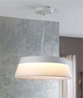 Modern Double Shade LED Pendant - Dimmable