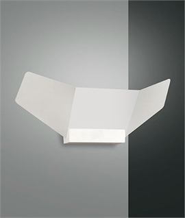 Angular Panel LED Wall Light - Dimmable