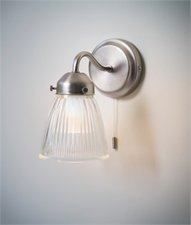 La Parisienne Bathroom Wall Light IP44 Rated