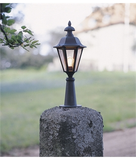 Traditional Quality Post Top Lantern H:410mm