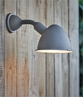 Large Charcoal Outdoor IP44 Wall Light