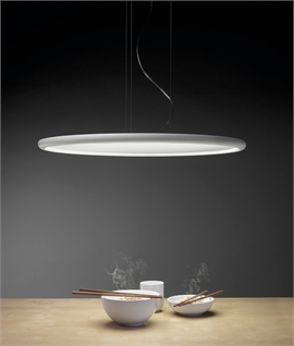 Low Profile Round LED Suspended Pendant