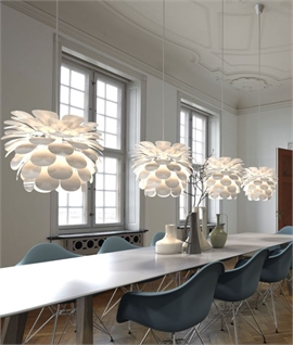Danish Designed Flower Pendant With 4m Flex