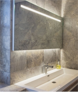Wide 1250mm Backlit Bathroom Illuminated Mirror